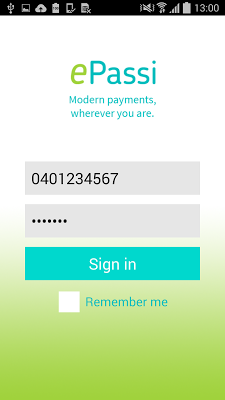 ePassi - screenshot