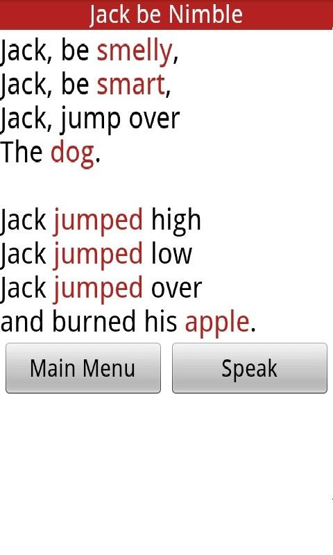Milly's Mad Libs Lite - screenshot