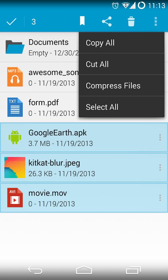 Sliding Explorer - screenshot