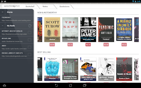 Mantano Ebook Reader Premium v2.4.12