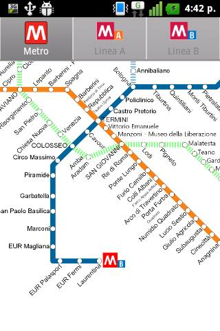 Rome Metro - screenshot
