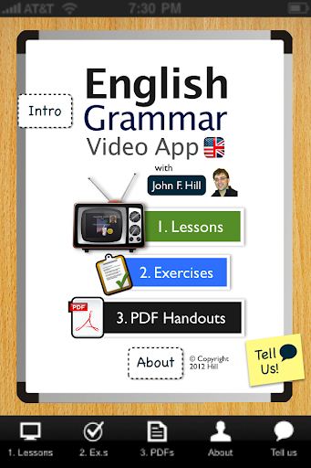 English Grammar App - Free