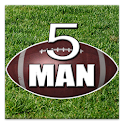 5 Man Flag Football Playbook logo