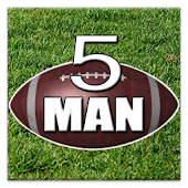 5 Man Flag Football Playbook