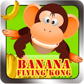 banana flying kong
