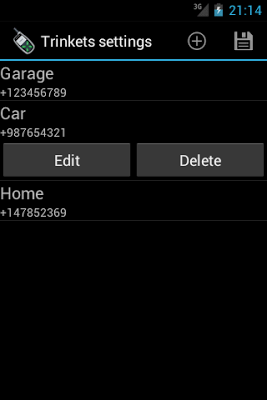 GSM Trinket - screenshot