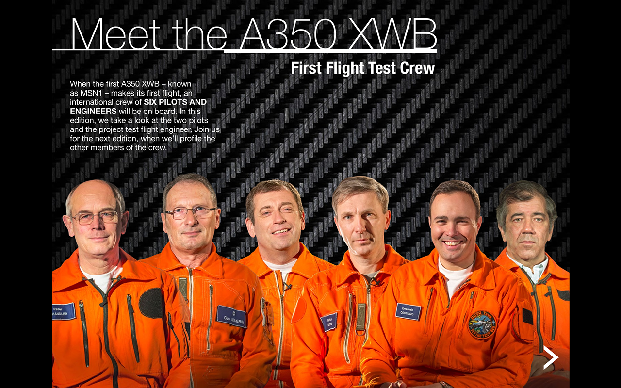 A350 XWB MAGAZINE- screenshot