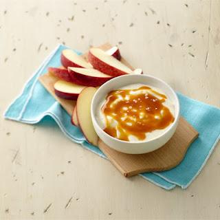 Salted Caramel Yogurt Dip