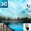 Touch 3D LWP: Lake at spring icon