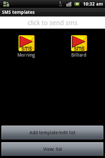 SMS Templates- screenshot thumbnail