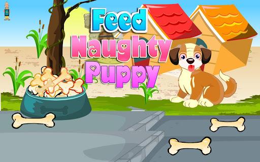 Feed Naughty Puppy