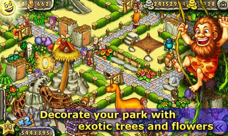 Prehistoric Park Builder screenshot #4