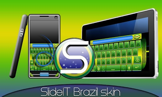 SlideIT Brazil Skin- screenshot thumbnail