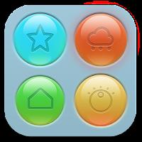 RoundGlass Toucher Pro Theme 1.0