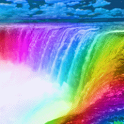 Rainbow Waterfalls LWP icon