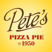 Pete's Pizza Online Ordering