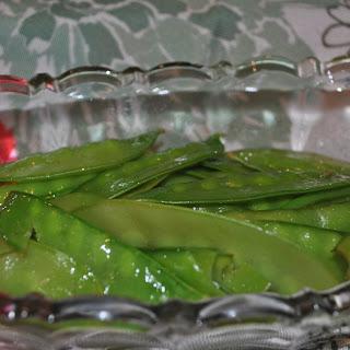 Sautéed Sugar Snap Peas