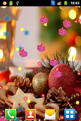 Christmas In Air LiveWallpaper