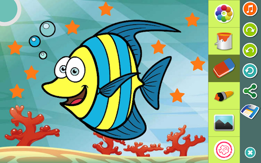 玩免費教育APP|下載動物の塗り絵 app不用錢|硬是要APP