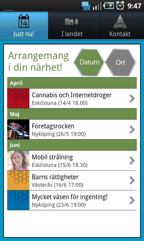 träffa nya vänner app Ystad