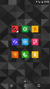 Easy Square - icon pack Screenshot