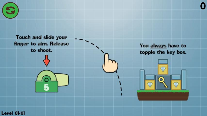 Box Topple - Knockdown! screenshot #1
