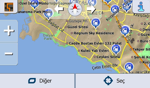Başarsoft Navigation Turkey screenshot