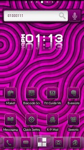 ADW Theme BinaryPink - screenshot thumbnail