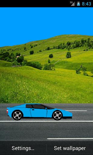 Car Live Wallpaper
