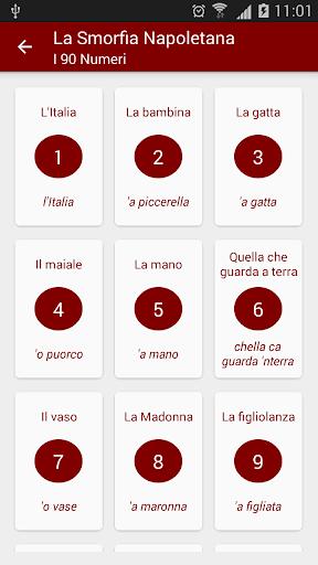 Smorfia Napoletana con Annunci con  Annunci 3.2.3 screenshots 4