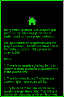 Harry Potter Quotient - screenshot thumbnail