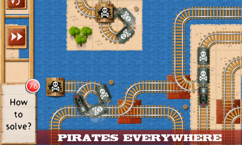 Rail Maze : Train puzzler- screenshot