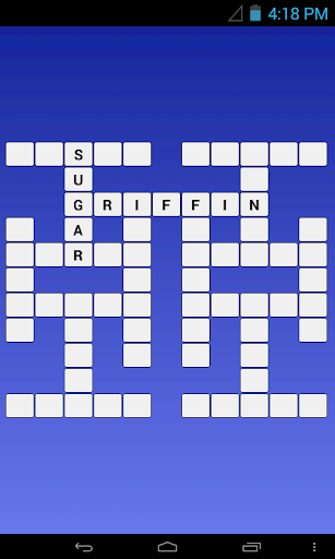English - Arabic Crossword