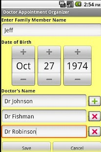 Doctor Appointment Organizer- screenshot thumbnail