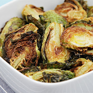 Flash-fried Brussels sprouts with garlic and lime.