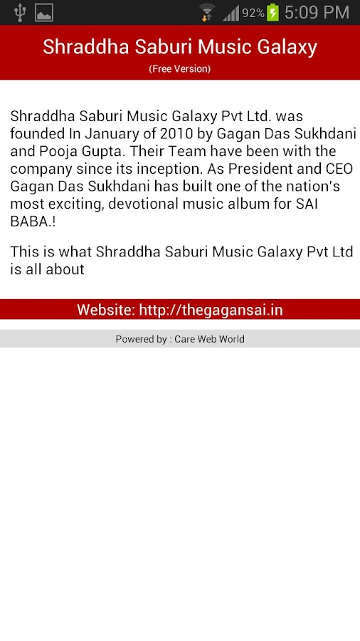 SAI BABA Free Songs - screenshot