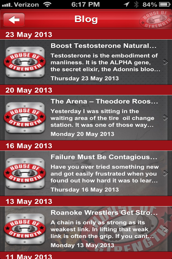 House of Strength Gym - screenshot