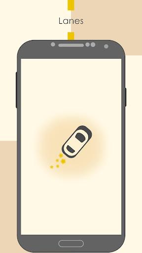 Lanes: Drive the white lane