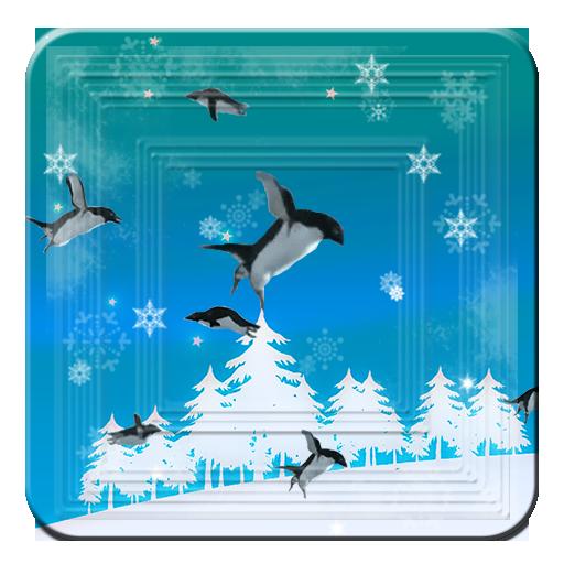 Christmas Crazy Birds Penguins 個人化 App LOGO-APP試玩