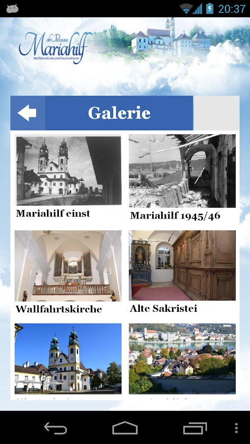 MARIAHILF OB PASSAU- screenshot