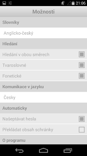 English-Czech Dictionary- screenshot thumbnail
