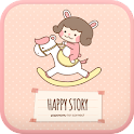 Happy story go launcher theme icon