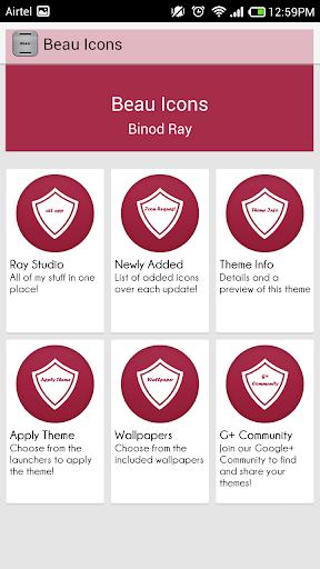 玩個人化App|BEAU ICONS-FREE APEX/NOVA/ADW免費|APP試玩