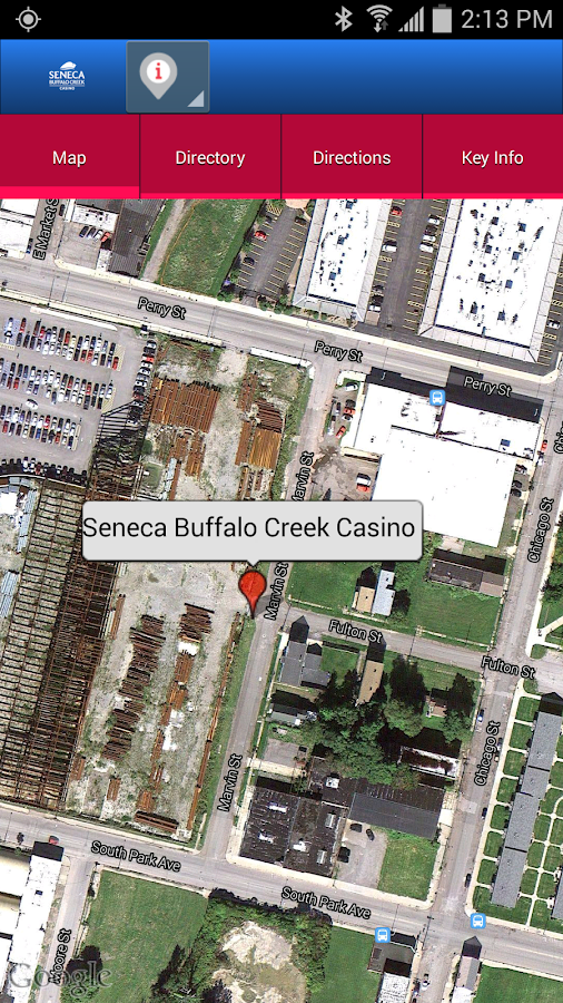 Seneca Buffalo Creek Casino - screenshot