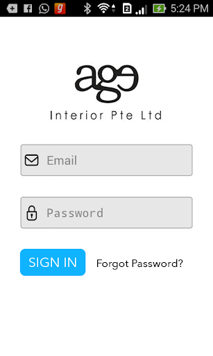 Age Interior Mobile Invoicing