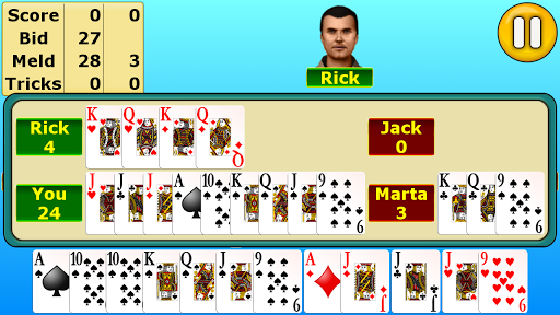 Pinochle  gameplay | by HackJr.Pw 11