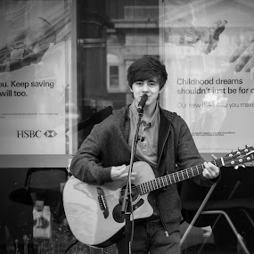 Childhood Dreams by Gaz Haywood - People Musicians & Entertainers ( busker, singer, guitar, boy, man,  )