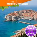 Dubrovnik Street Map logo