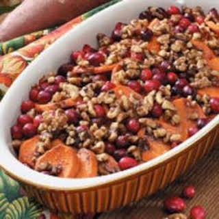 Sweet Potato Cranberry Bake.