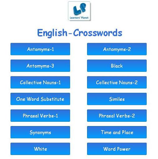 English-Crosswords-Challenge-1